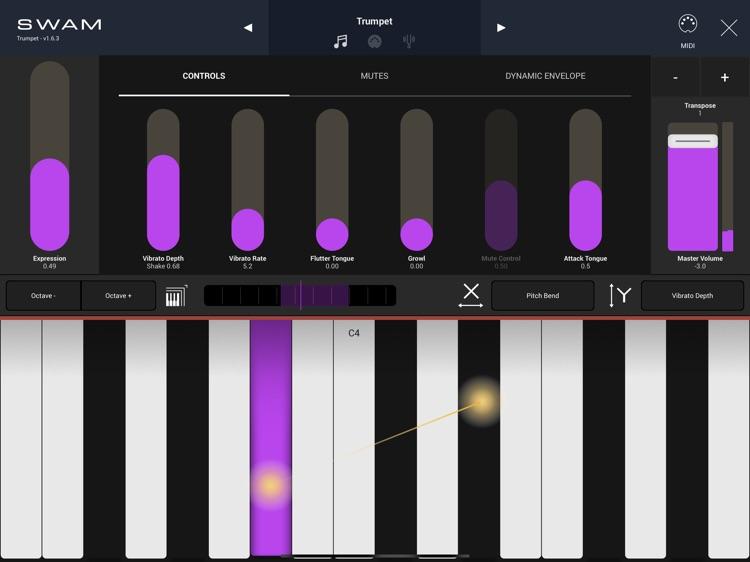 SWAM Trumpet screenshot-9