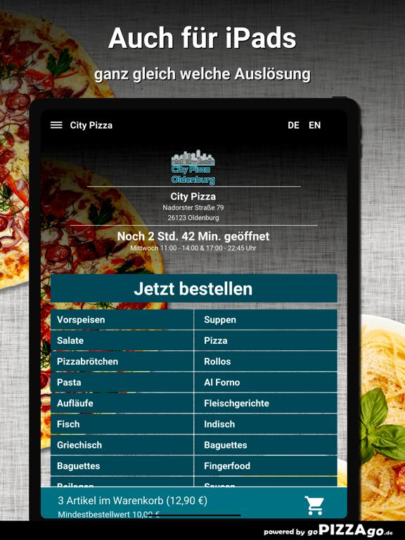City-Pizza Oldenburg screenshot 7