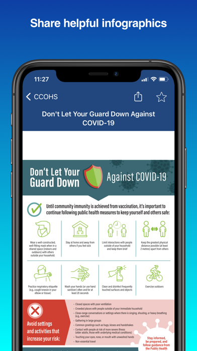 CCOHS Safe Work screenshot 4