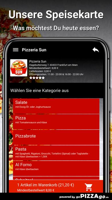 Pizzeria Sun Frankfurt am Main screenshot 4