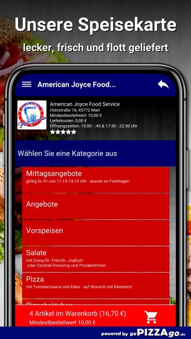American Joyce Food Marl screenshot 6