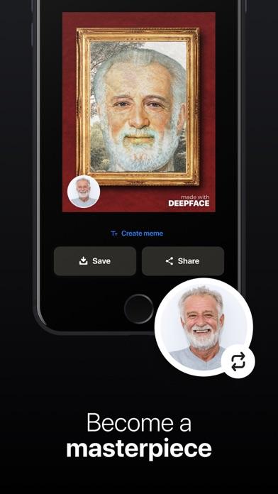 DeepFace - Reface app Editor Screenshot
