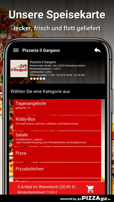 Pizzeria il Gargano Heinsberg screenshot 4