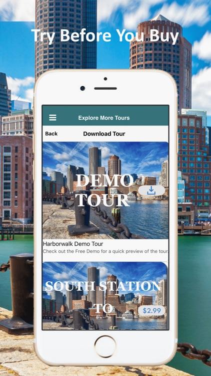 Boston Harborwalk Tour Guide