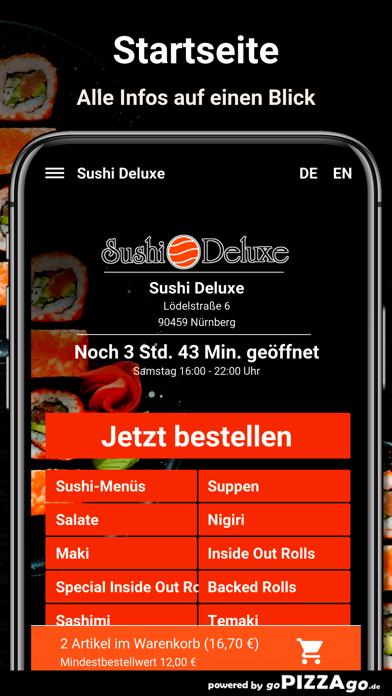 Sushi Deluxe Nürnberg screenshot 2