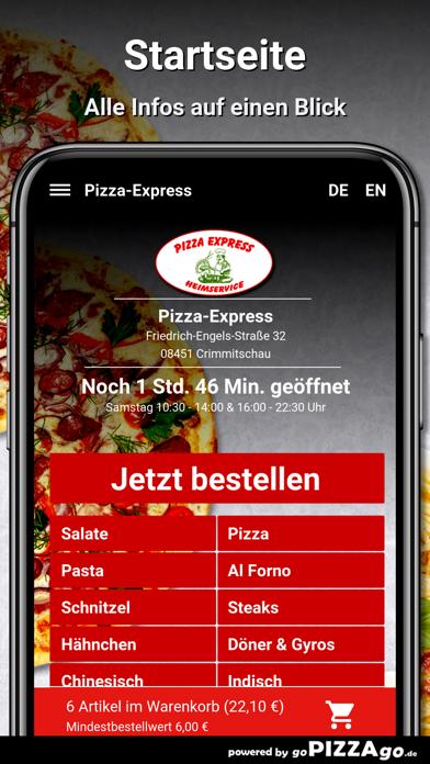 Pizza-Express Crimmitschau screenshot 2
