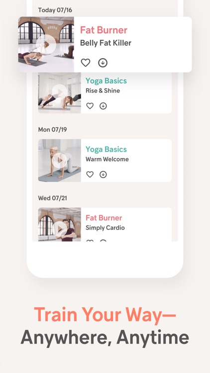 Gymondo: Fitness & Yoga screenshot-5