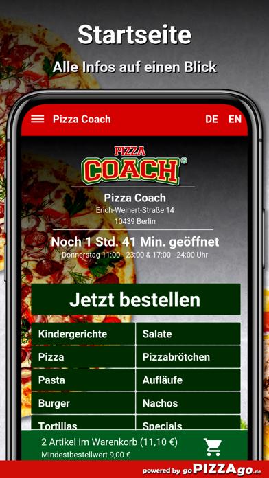 Pizza-Coach Berlin screenshot 2