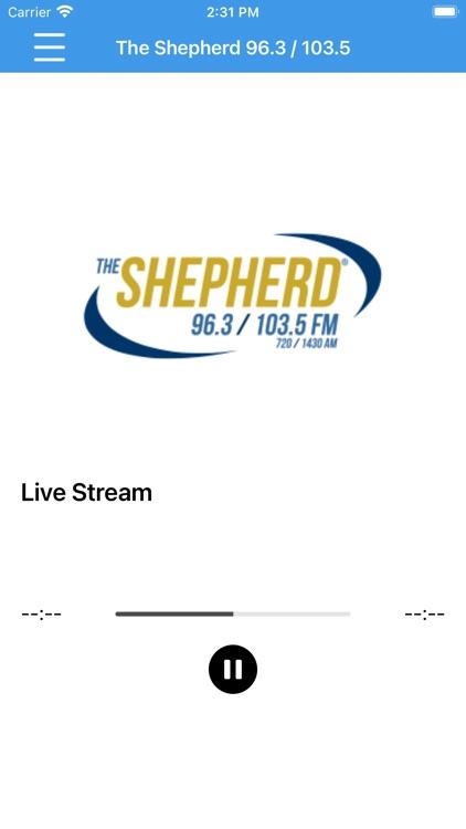 The Shepherd Radio