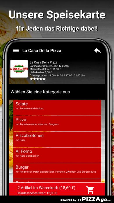La Casa Della Pizza Büren screenshot 3