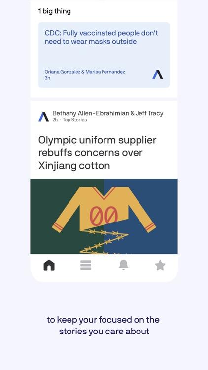 Axios: Smart Brevity news screenshot-3