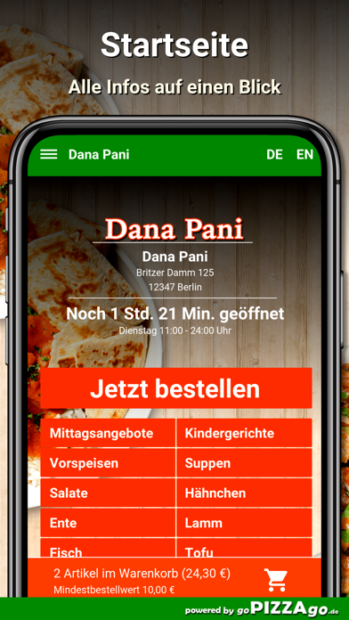 Dana-Pani Berlin screenshot 2