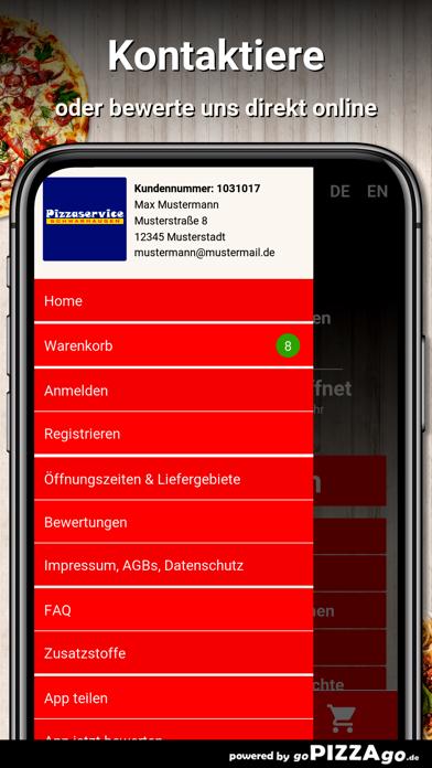 Pizzaservice Schwabhausen screenshot 3