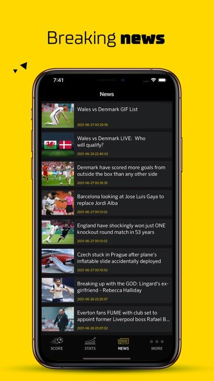 Live Score Football Scores screenshot-7