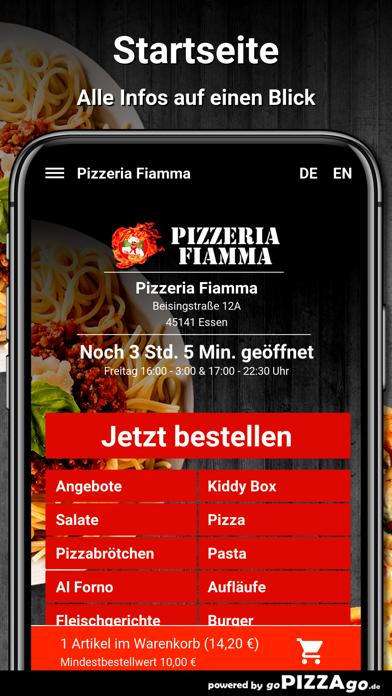 Pizzeria Fiamma Essen screenshot 2