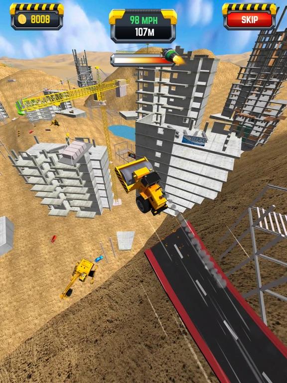 Construction Ramp Jumping screenshot 9