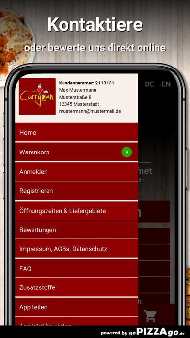 Curryman Offenbach screenshot 3