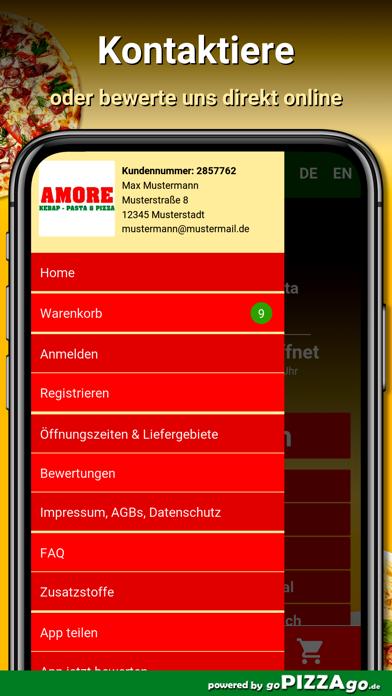 Amore Pizza Donzdorf screenshot 3