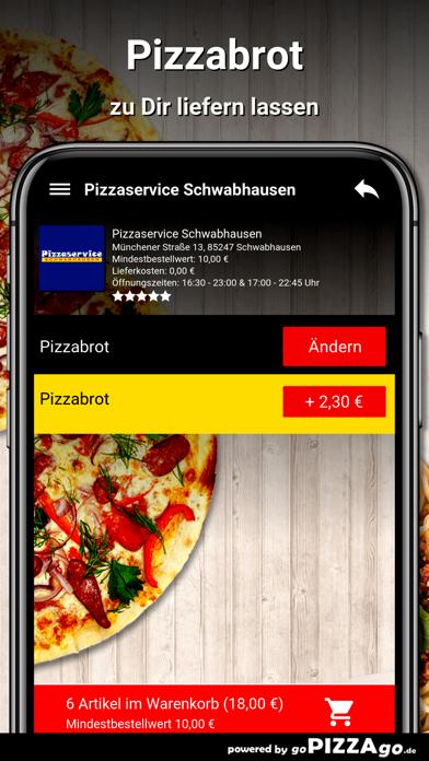 Pizzaservice Schwabhausen screenshot 5