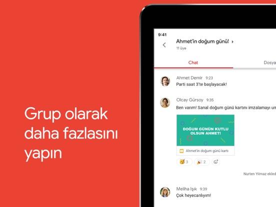 Gmail - Google'dan e-posta ipad ekran görüntüleri