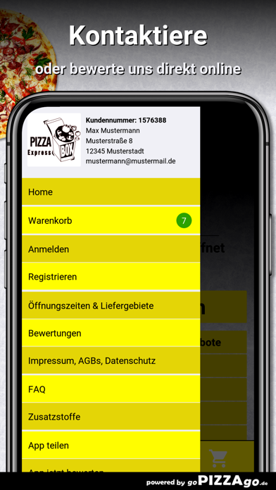 Pizza Box Ulm Ulm screenshot 3