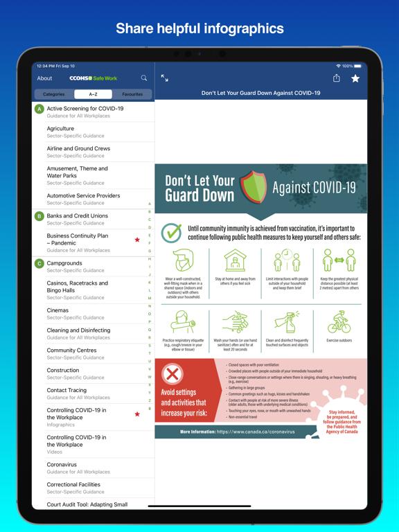 CCOHS Safe Work screenshot 9