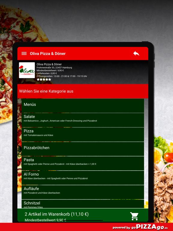 Oliva Pizza & Döner Hamburg screenshot 8