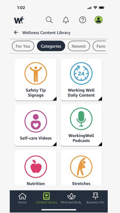 Amazon WorkingWell screenshot 5