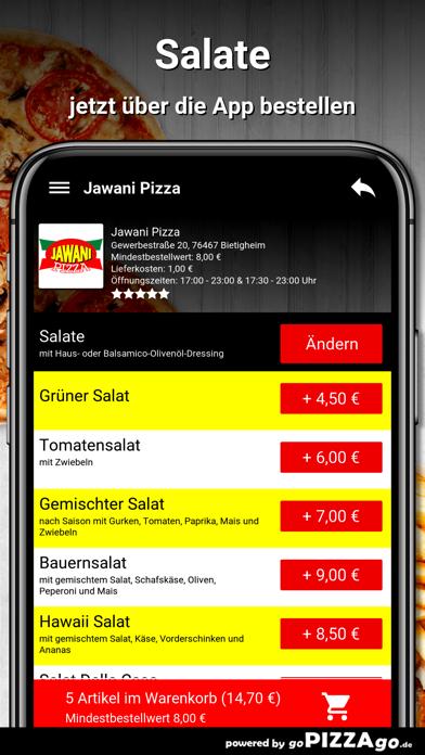 Jawani Pizza Bietigheim screenshot 5