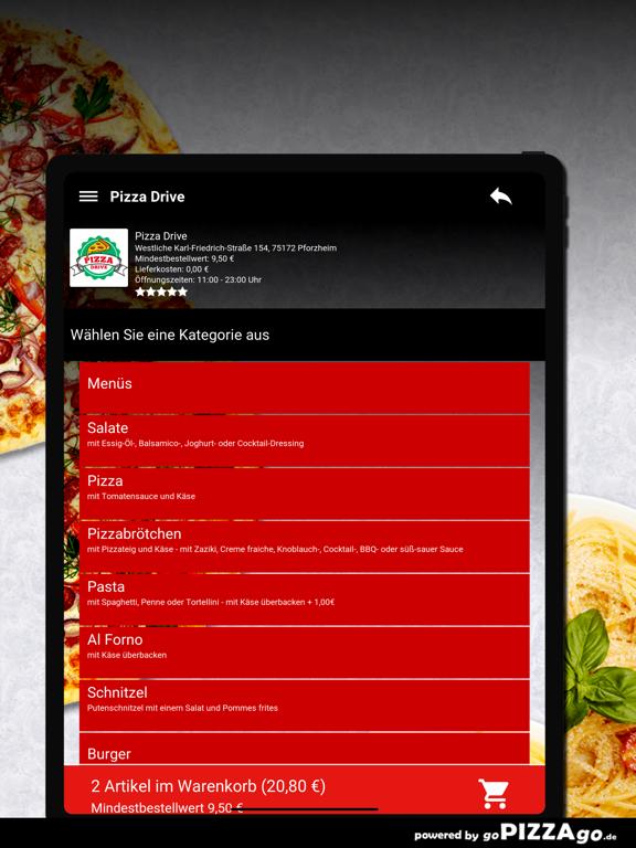 Pizza Drive Pforzheim screenshot 8