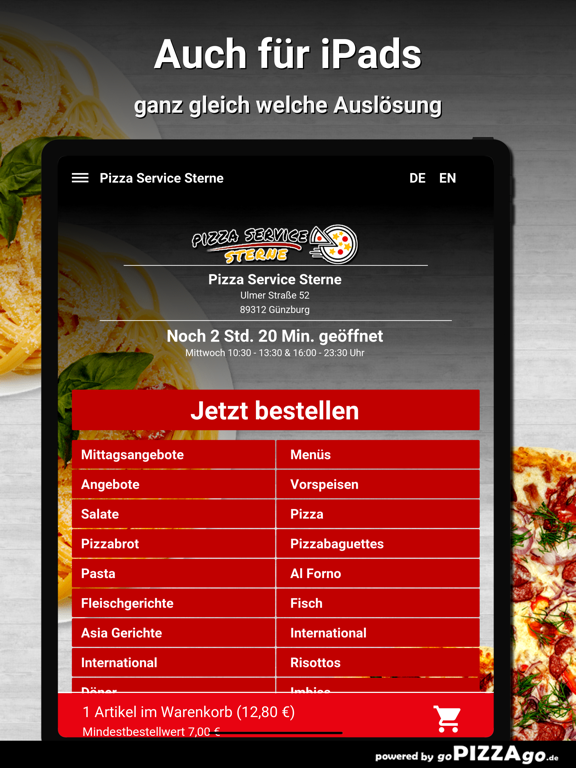 Pizza Service Sterne Günzburg screenshot 7