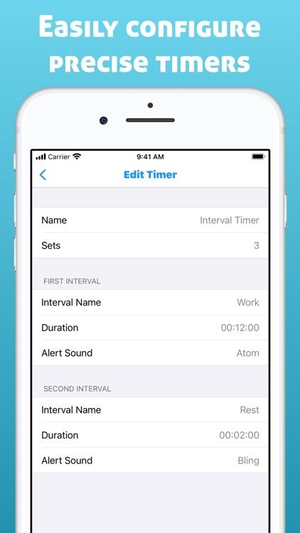 Interval Timer for Tasks