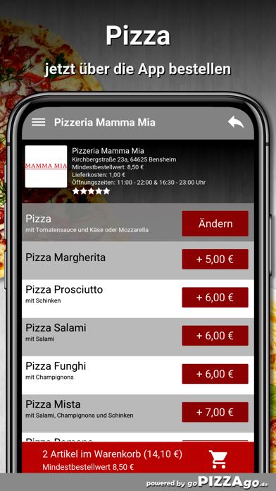 Pizzeria Mamma Mia Bensheim screenshot 5