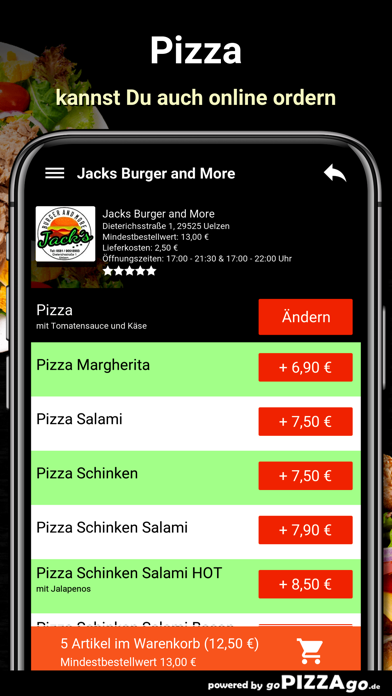 Jacks Burger and More Uelzen screenshot 5