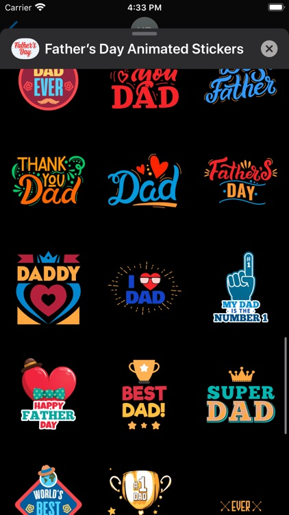 Father's Day Animated Stickers screenshot-5