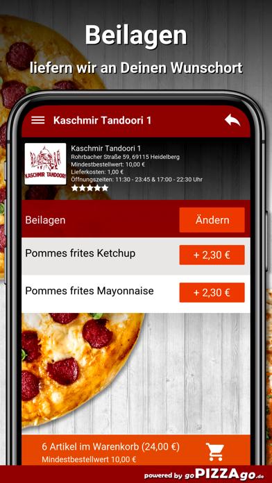 Kaschmir Tandoori 1 Heidelberg screenshot 6