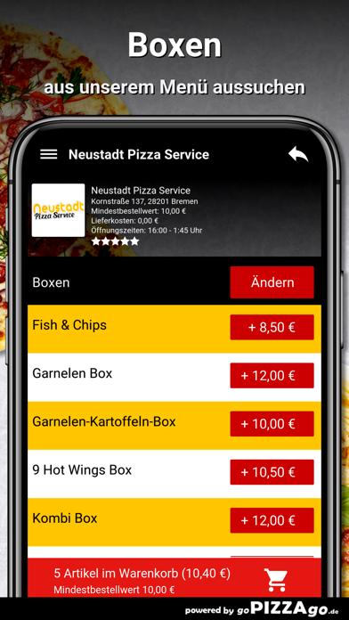 Neustadt Pizza Service Bremen screenshot 5