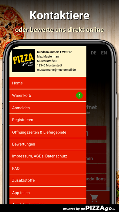 Pizza Station Moers screenshot 3