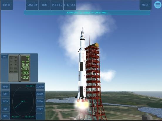 Space Simulator iPad app afbeelding 3