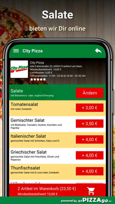 City Pizza Frankfurt am Main screenshot 5