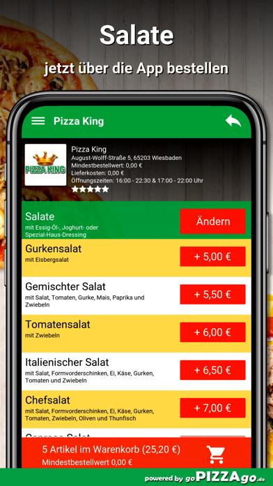 Pizza King Wiesbaden screenshot 5
