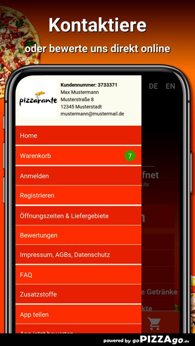 Pizzarante Ottobrunn screenshot 3