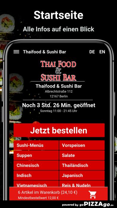 Thaifood & Sushi Bar Berlin screenshot 2