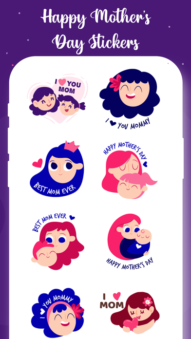 Mother's Day Stickers! Screenshot