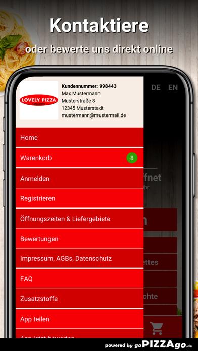 Lovely Pizza Schwarzach screenshot 3