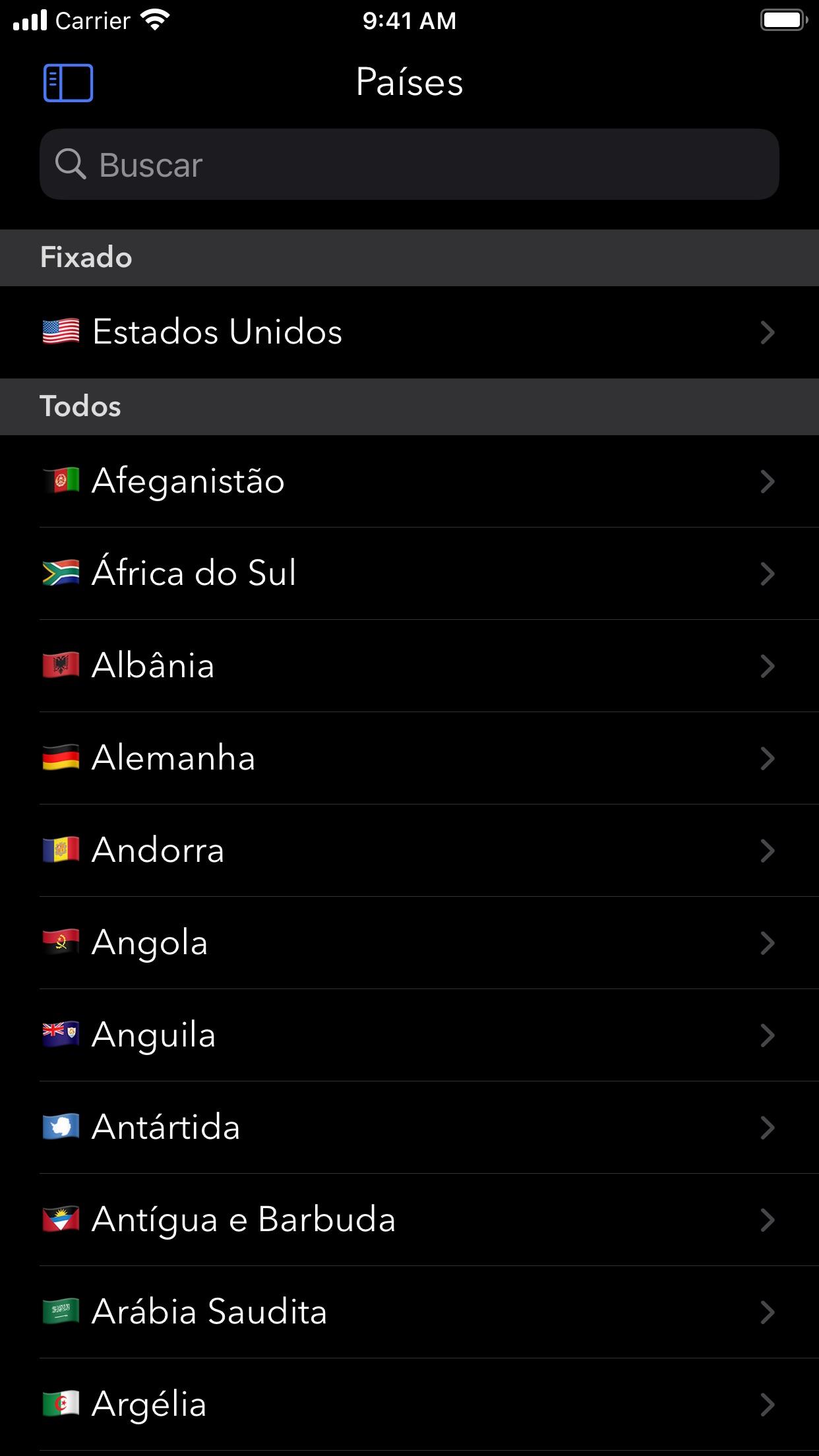 Screenshot do app Morpho Converter