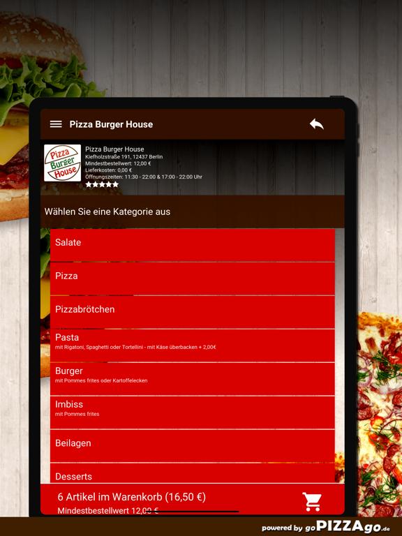 Pizza Burger House Berlin screenshot 8