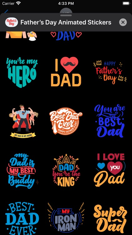 Father's Day Animated Stickers screenshot-6
