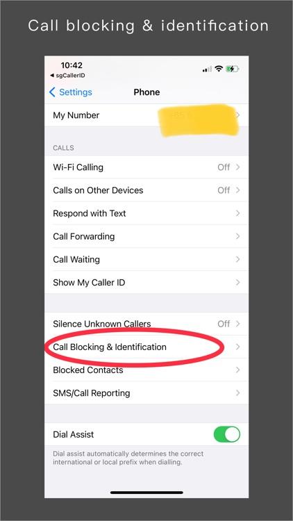 sgCallerID screenshot-3