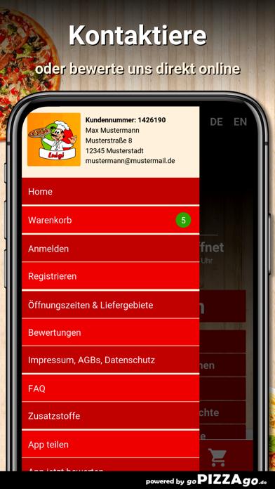 Luigi Pizzaservice Meldorf screenshot 5